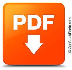 PDF download icon orange square button