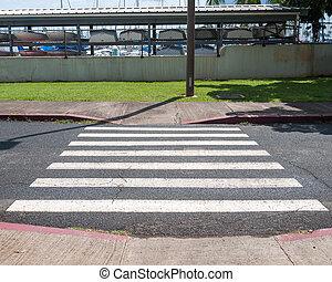 peão, crosswalk