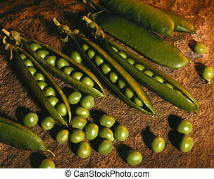 Pea pods - Cooking ingredients - Peas and pea pods