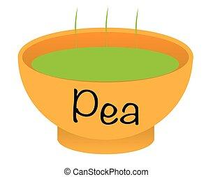 Pea Soup Bowl