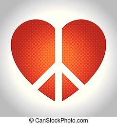 Peace and love design