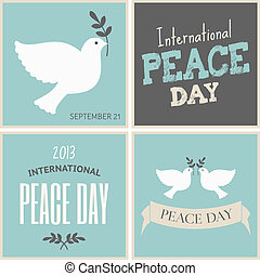Peace Day Cards Collection