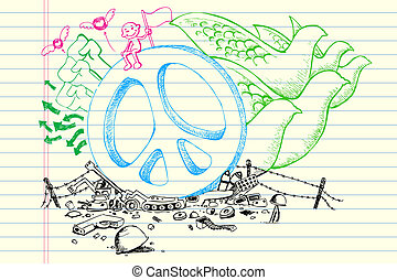 Peace Doodle