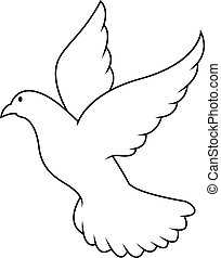 Peace dove illustration