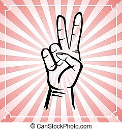 peace hand