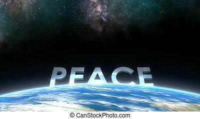"peace."", horizon, ""earth, aanzicht"