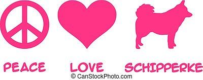 Peace, Love, Schipperke
