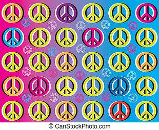 Peace Movement    (motion illusion)