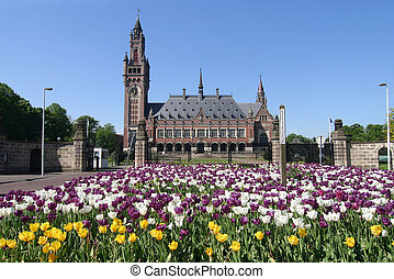 Peace Palace, UN International Court of Justice in The Hague, Holland