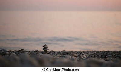 Peace relax zen background. Spa concept. - Peace relax zen...