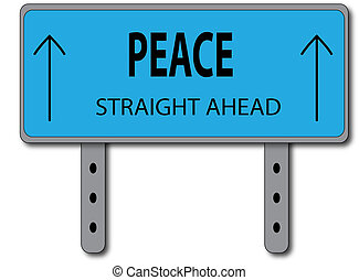 Peace Sign Concept