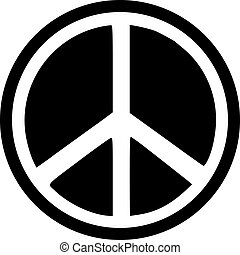 Peace sign inverted