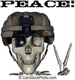 Peace skull 2
