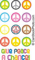 Peace Symbol - Give peace
