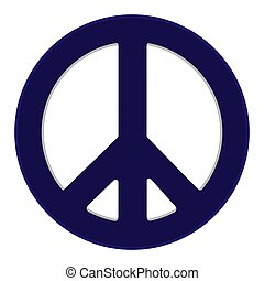 Peace Symbol Vector illustration Eps 10