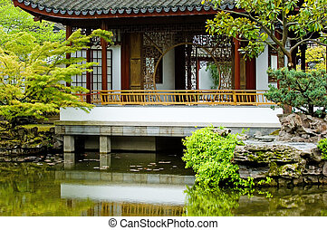 Dr. Sun Yat-Sen Classical Chinese Garden in Vancouver, British Columbia, Canada
