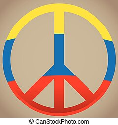 Peace, Vector illustration