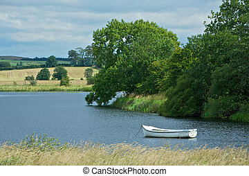 Peaceful Countryside - Beautiful scenic countryside with a...