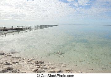 Peaceful ocean Skark Bay Australia
