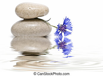 Peaceful. - Still life about zen balance with stones,...