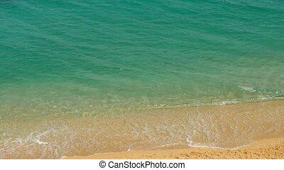 Peaceful tropical seacoast - Beautiful tropical seacoast ...