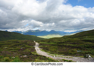 peaceful West Highland Way - scenery around the West...