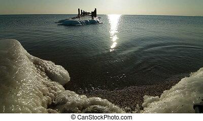 Peaceful Winter Seascape