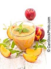 peach smoothie