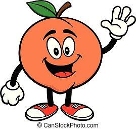 Peach Waving