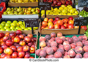 Peaches, nectarines and other fruits