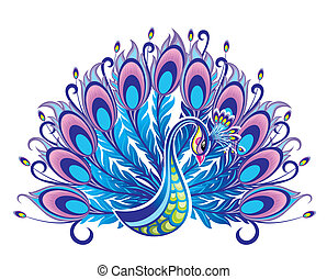 Peacock - Bird symbol