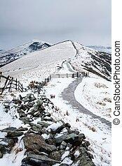 Peak District in winter