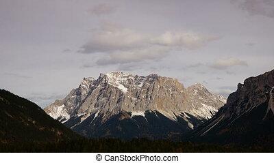 Peak in Tirol, Austria - time-lapse