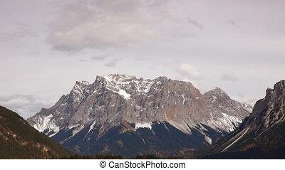 Peak in Tirol - close-up view