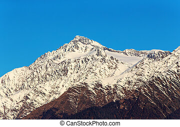 peaks of the Caucasus Mountains