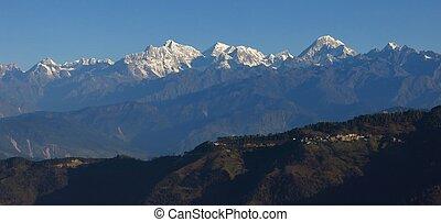 View from the Lukla to Kathmandu flight