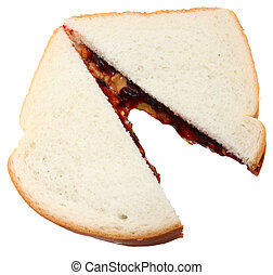 Peanut Butter and Jelly - Peanut butter and blackberry jelly...