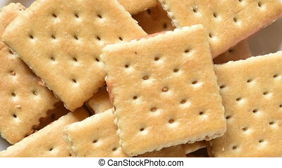 Peanut butter cracker sandwiches - Peanut butter crackers...