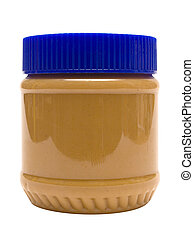 Delicious peanut butter. File contains clipping path.
