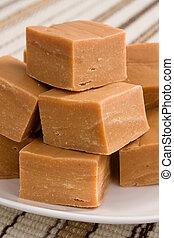 Peanut Butter Fudge - Chunks of creamy peanut butter fudge.