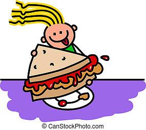 Peanut Butter & Jam Sandwich