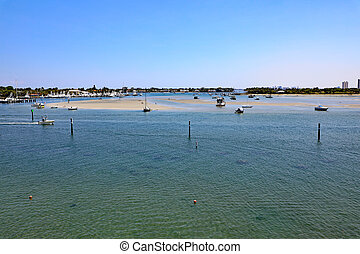 Peanut Island North Sandbar in Riviera Beach, Florida