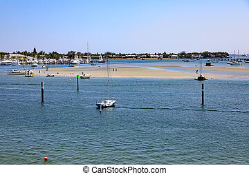Peanut Island North Sandbar in Riviera Beach, Florida