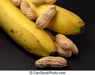 Peanuts and bananas