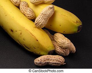 Peanuts and bananas