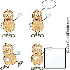 Peanuts Cartoon Mascot Characters-Collection