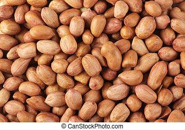 Peanuts close-up