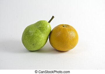 Pear and Orange