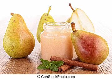 pear compote