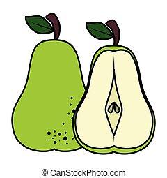 pear fresh fruit healthy